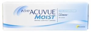 1-DAY ACUVUE® MOIST for ASTIGMATISM, 30 szt.
