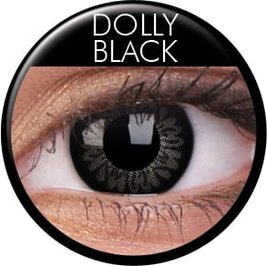 Big Eyes Dolly Black
