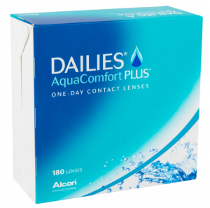 Dailies AquaComfort Plus, 180 szt.