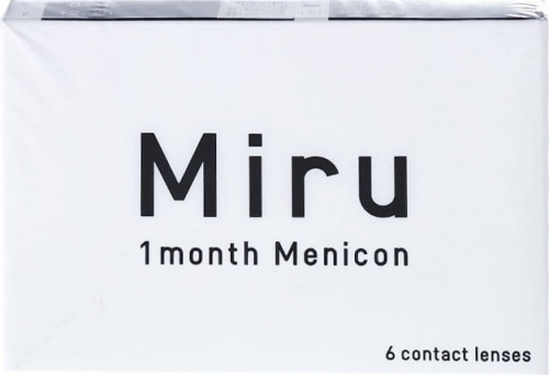 Miru 1month Menicon, 6 szt.
