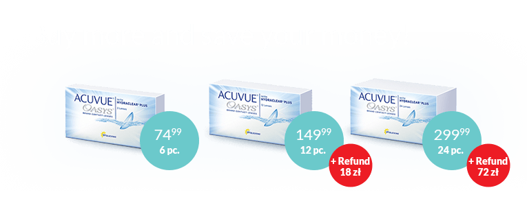 Acuvue Oasys CashBack