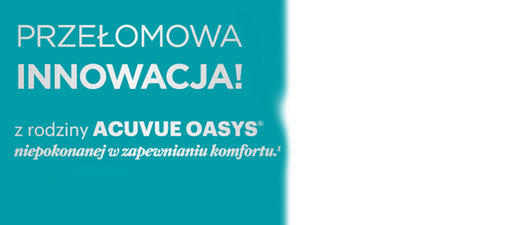 acuvue oasys nowosc